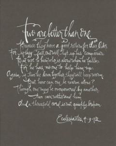 ecclesiastes 4-9-12