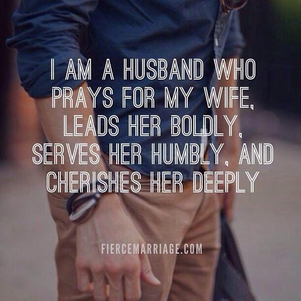 prays for wife