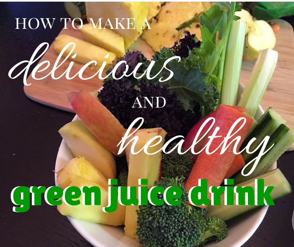 how to make healthy green drink juice