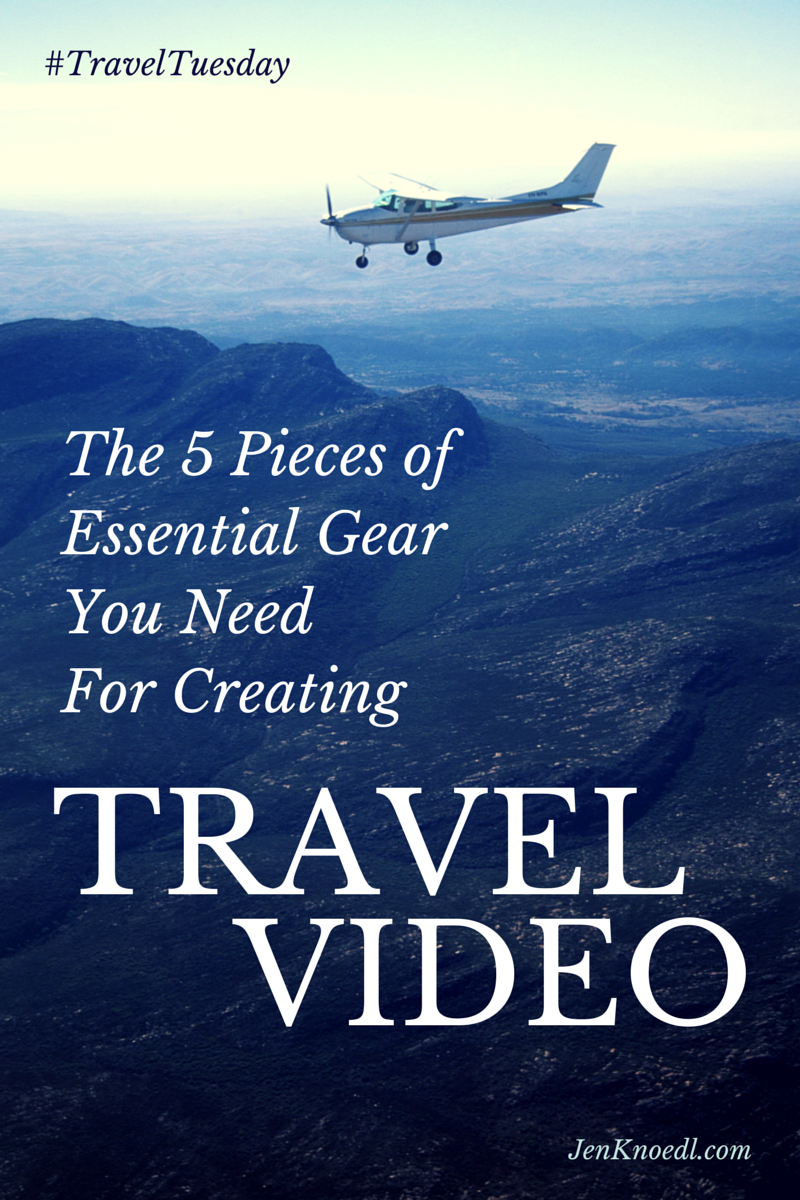 travel tuesday: travel gear for travel video blog