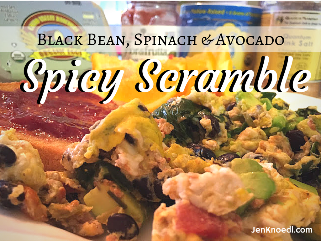 spicy scramble video recipe jenknoedl