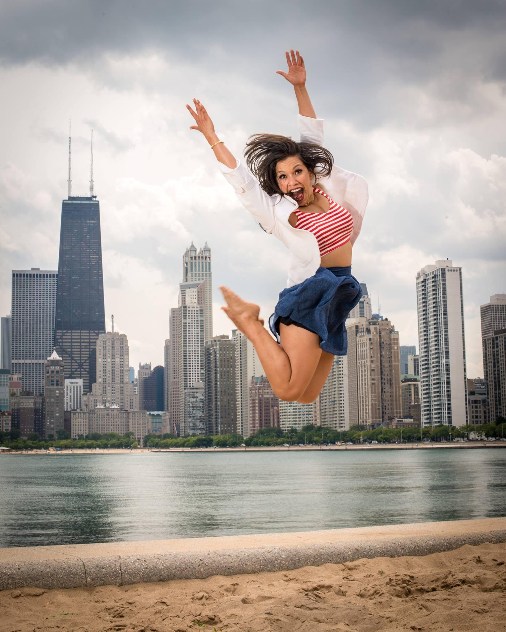 jen knoedl chicago jump 2013