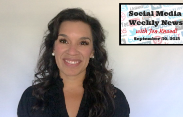 Video News: This Week In Social Media 9/30/15