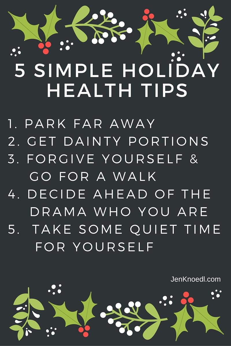 holiday tips video blog jen knoedl