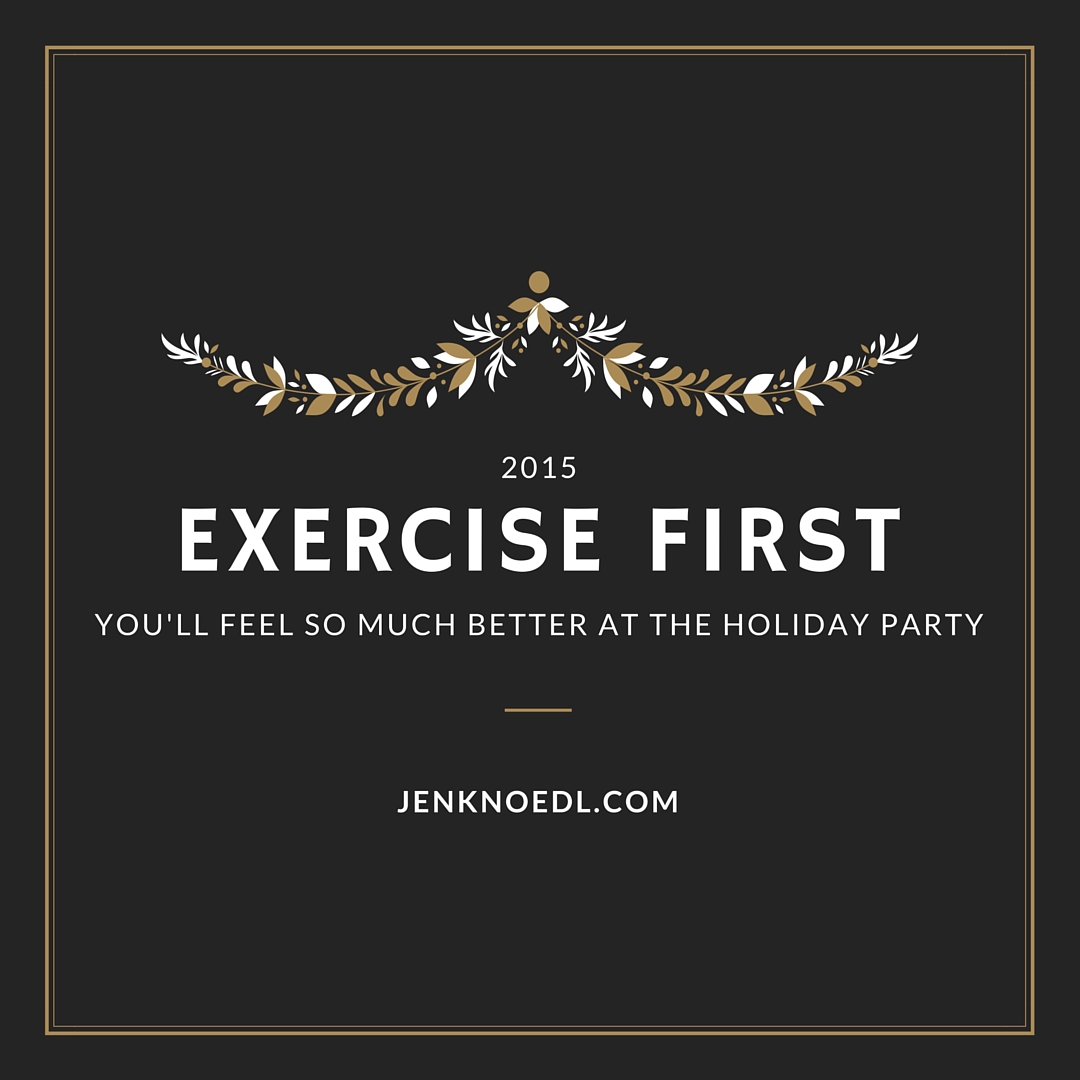 holiday exercise video blog