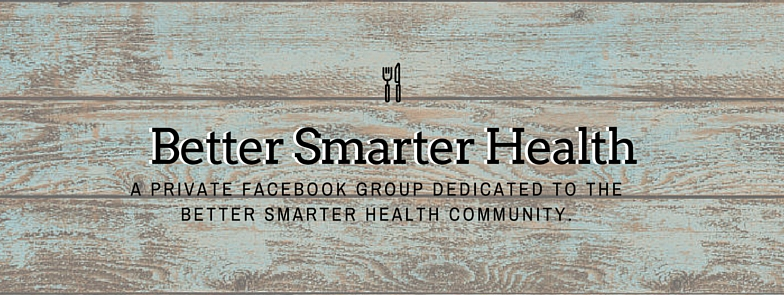 facebook group page better smarter health