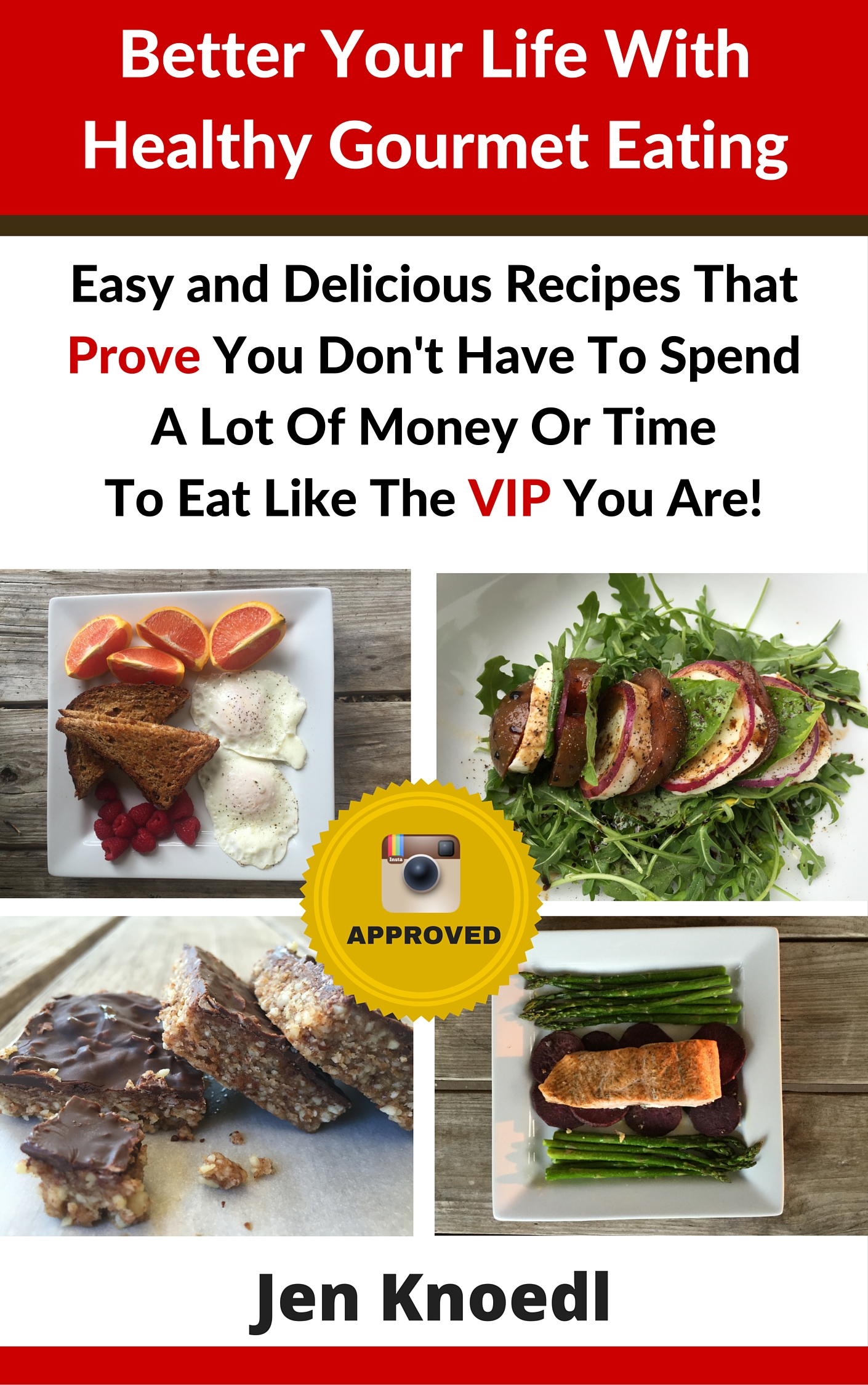 ebook cover Healthy Gourmet Eating