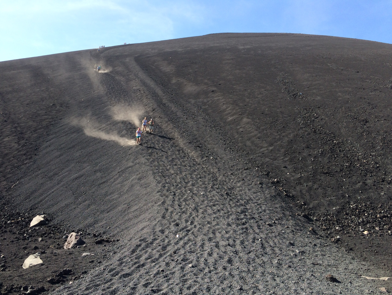 nicaragua cerro negro run