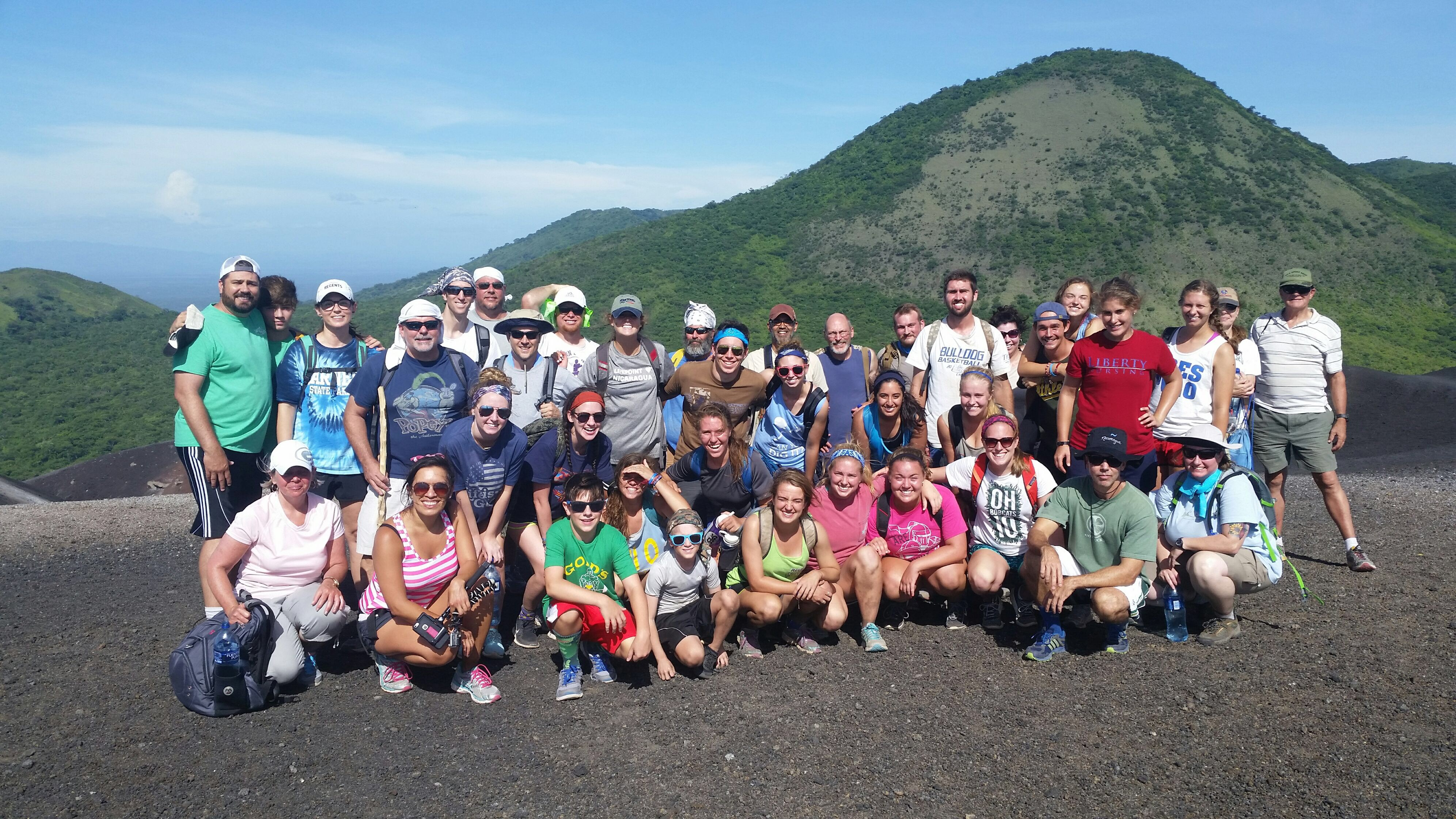 gateway austin church and amigos for christ in nicaragua cerro negro
