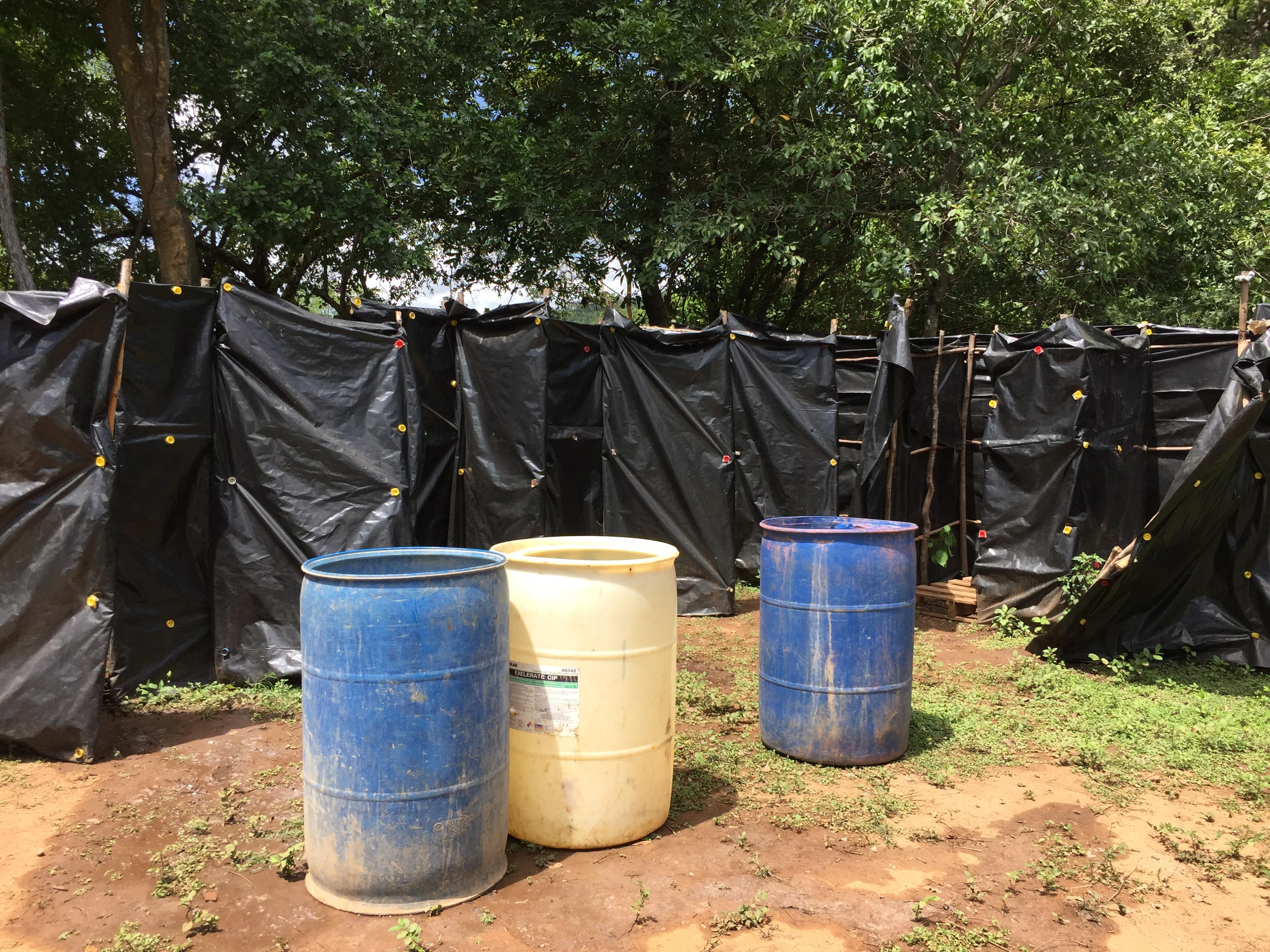 bucket shower nicaragua