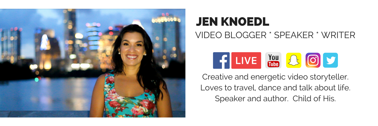 jen knoedl video blogger bio