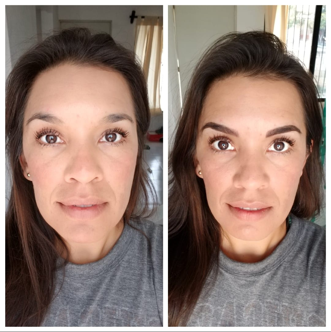 Microblading Eyebrows Before And After Jen Knoedl